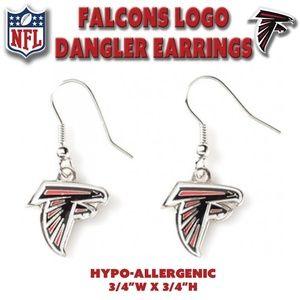 Falcons NFL Dangle Earrings